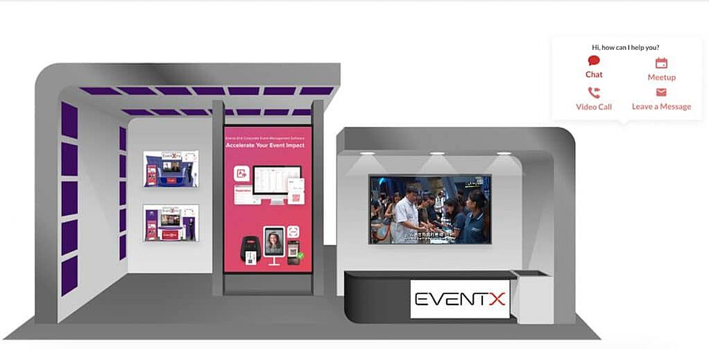 virtual event booth